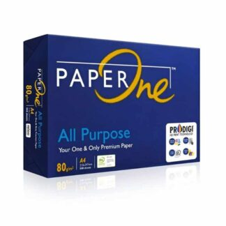 Product Type : Offset Paper Size : A4 GSM : 80 Brand : Paper One Contains : 500 Sheets