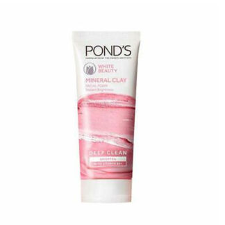Ponds White Beauty Mineral Clay Instant Brightness Face Wash Foam 90g