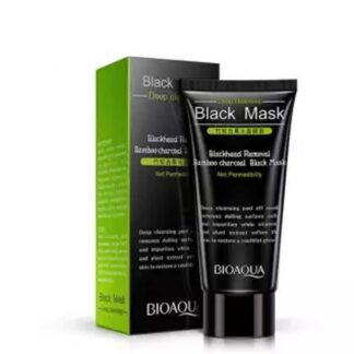 Bioaqua bamboo charcoal blackhead remover black mask acne treatment peel off black mask