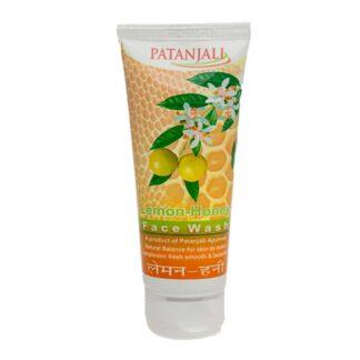 Patanjali Lemon Honey FACE WASH, 60g