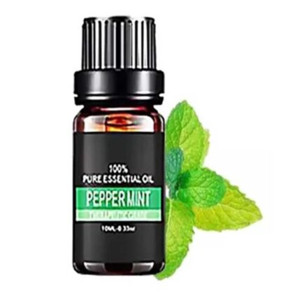 Natural 10ml Bottle of Essential Oil_Peppermint
