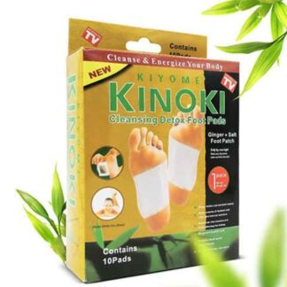 High Quality Gold Kinoki Cleansing Detox Foot Pad - 10 Pads