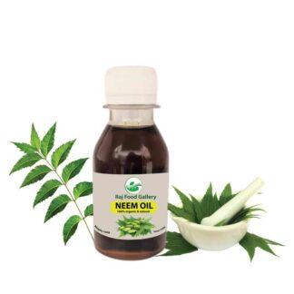 Neem natural Oil- RAJ FOOD GALLERY NEEM OIL / Total natural ingredient (নিমের তেল)- 100 gm
