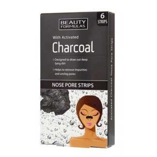 Beauty Formulas Activated Charcoal Nose Pore Strips