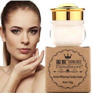 Dimollaure Herbal Whitening Freckle Cream - 15gm