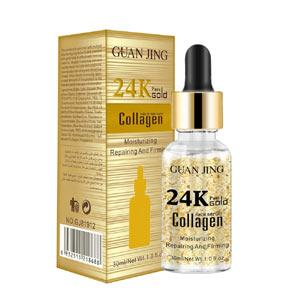 Guan jing 24k Gold Facial Serum Collagen Essential Toner For Face Moisturizing Repairing Firming