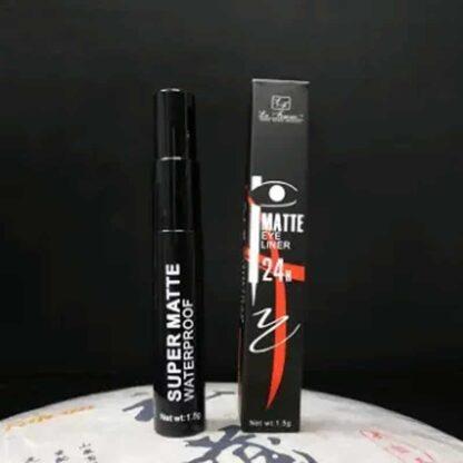 La Femme Super Matte Waterproof 24H Eyeliner 5g – (Black)