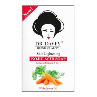 Melove Dr. Davey – Skin Lightening Kojic Acid Soap With Carrot Oil 100G