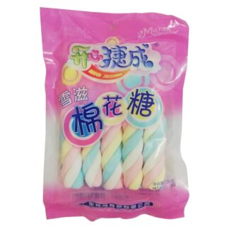 Passover Multicolor Fruity Marshmallows Twists - 30g