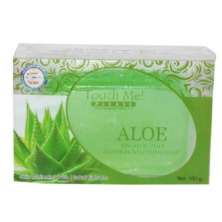 Touch Me ALOE VERA 82% Natural Soothing Soap