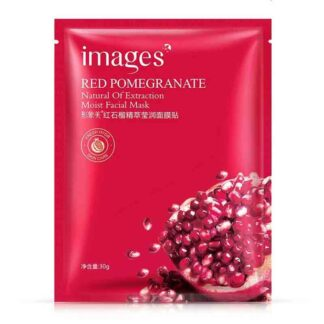 IMAGES Red Pomegranate Natural Of Extraction Moist Facial Mask