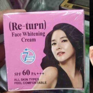 Return Face Whitening Cream