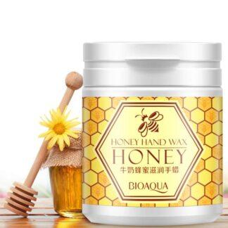 Bioaqua Hand Care Milk Honey Hand Wax - 180gm