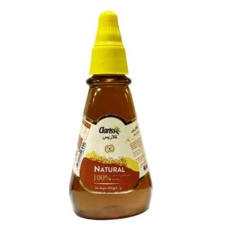 Clariss Natural Honey- 400gm Squeeze Pet Bottle