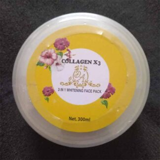 Collagen X3 3 in 1 Whitening Face Pack