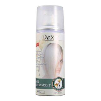 Dexe Temporary Hair Color Spray - White