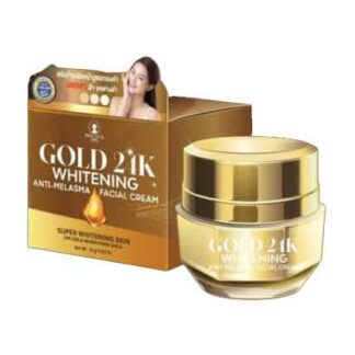 Gold 24K whitening Anti-Melasma Facial Cream