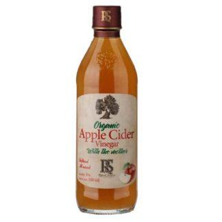 RS Apple Cider Vinegar WTM: 500ML Glass Bottle
