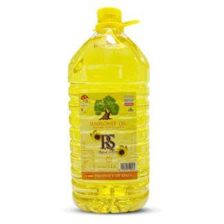 RS Sunflower Oil: 5 Litre Pet Drum