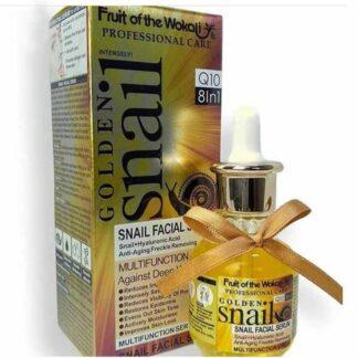 Wokali Golden Snail Facial Serum (Anti Ageing Freckle Removing)– 40ML