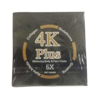 4K Plus 5X Whitening Body & Face Cream