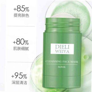 Dieliweiya Solid Facemask Stick Dieliweiya Dieliweiya Dieliweiya Clean Clean Face Solid Facemask Green