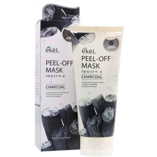 Ekel Peel Off Mask Charcoal
