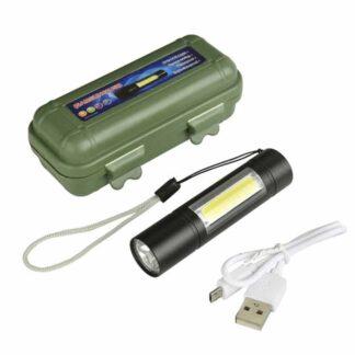 Multi Functional USB Rechargeable LED Mini Flashlight