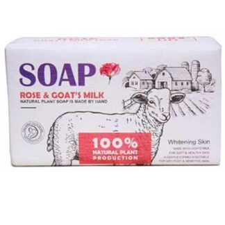 Rose And Goat Milk Soap 750g