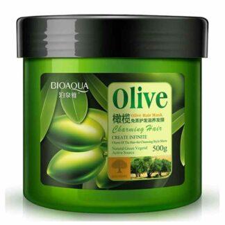 Bioaqua Olive Hair Mask Hair Repair Treatment 500g