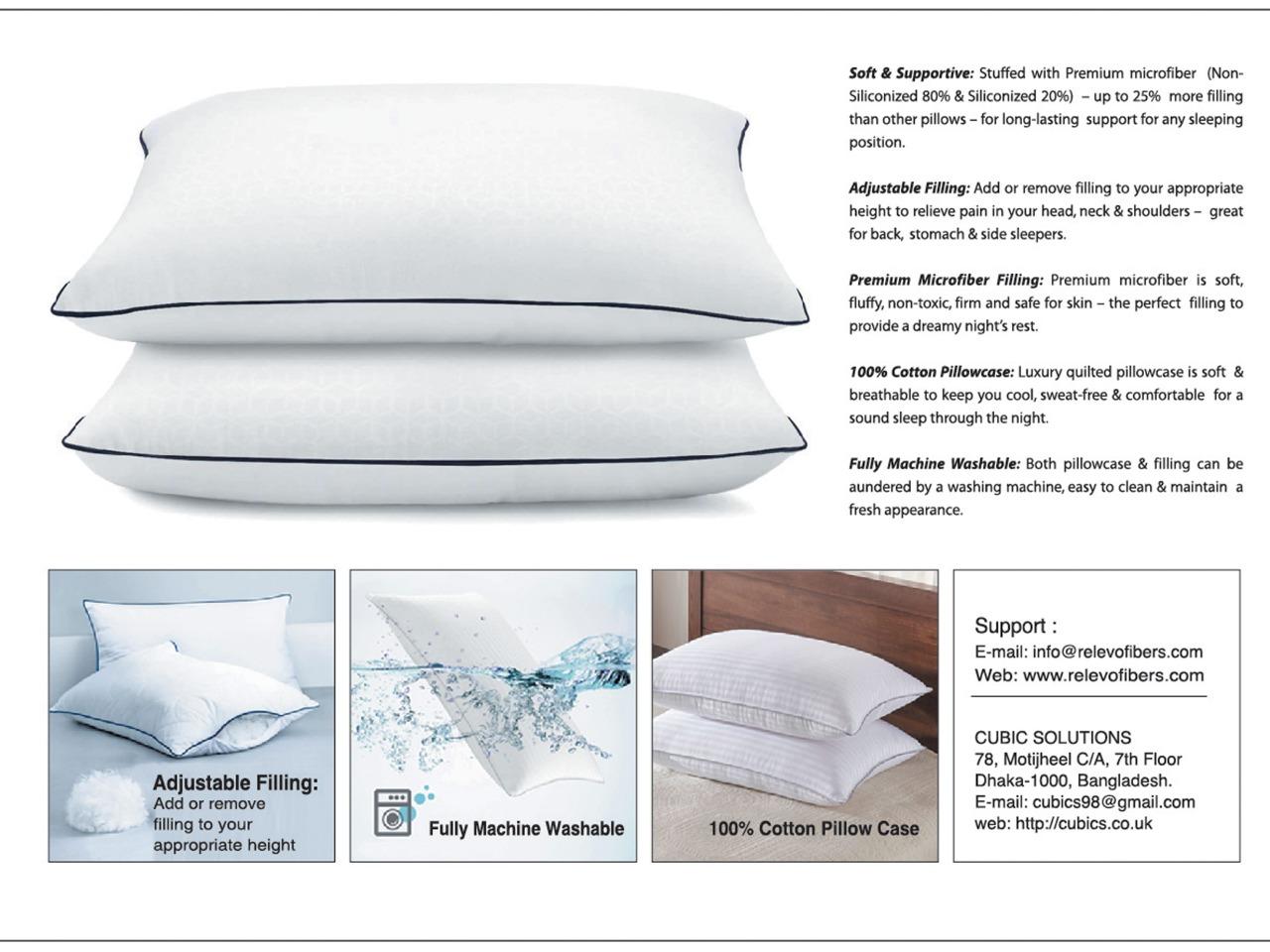Relevo Luxury Head Pillow
