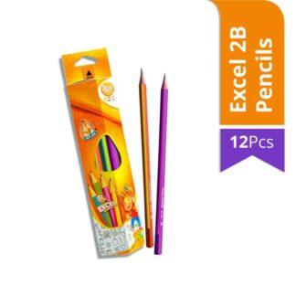 Atlas Junior Excel 2B Pencils (12Pcs)