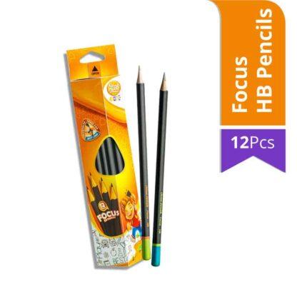 Atlas Junior Focus HB Pencils (12Pcs)