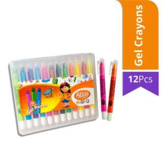 Atlas Junior Gel Pastels (12Pcs)
