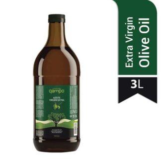 qampo Extra Virgin Olive Oil 3 L Pet Bottle