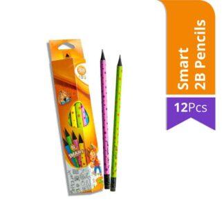 Atlas Junior Smart 2B Pencils (12Pcs)
