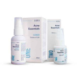 Aura Acne essentials sensitive skin solution- Cleanser+Gel