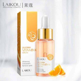 LAIKOU Vitamin C Serum VC California Whitening Antioxidant Remove Spots Orange Essence Brighten Skin Norish Smooth