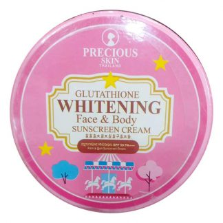 Precious Skin Glutathione Whitening Face & Body Sunscreen Cream