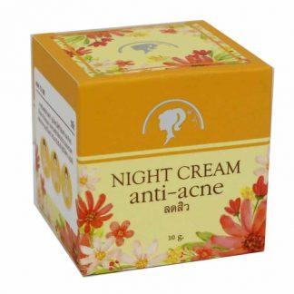 SHOW NAII NIGHT CREAM ANTI-ACNE 10GM