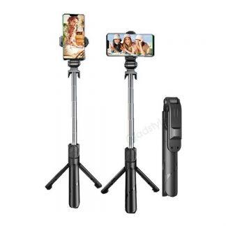 XT02 Wireless Bluetooth Tripod Mobile Phone Selfie Stick
