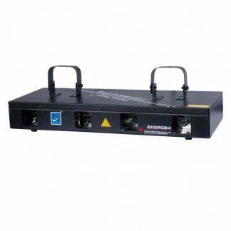 B102RGB/4 Dj laser lighting RGYP colors stage lighting 4 heads laser light